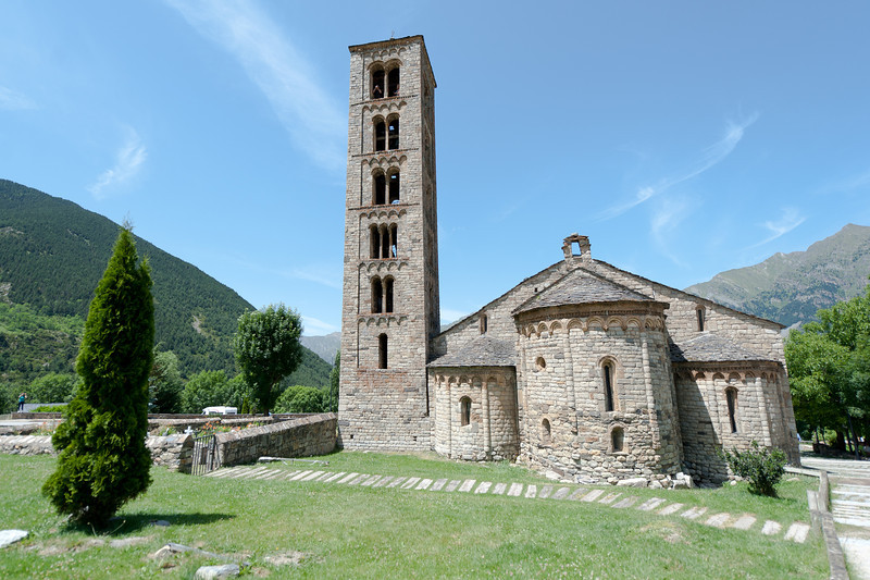 Sant Climent in Taull, Vall de Boi, Catalonia, Spain