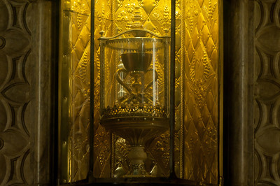 The Holy Grail in Valencia Cathedral, Valencia, Spain