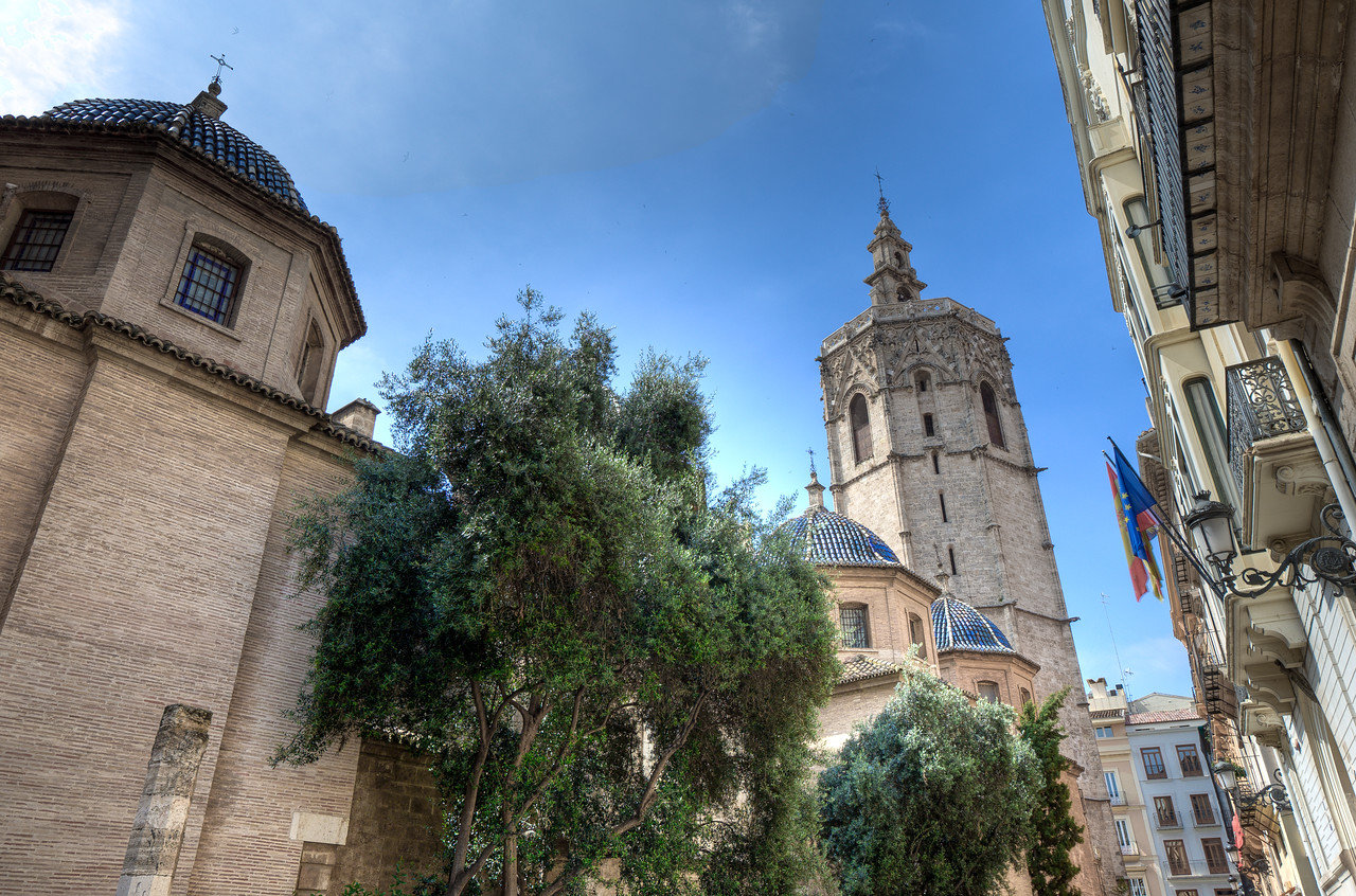 Miguelete Tower in Valencia, Spain