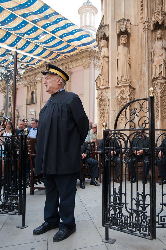Tribunal de las Aguas in Water Court - Valencia, Spain