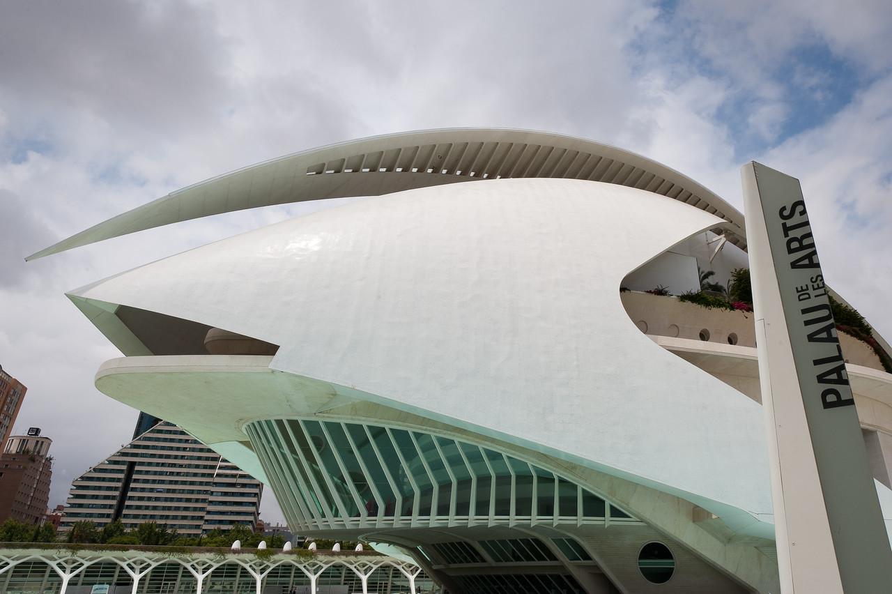 Palau de les Arts Reina Sofia in Valencia, Spain
