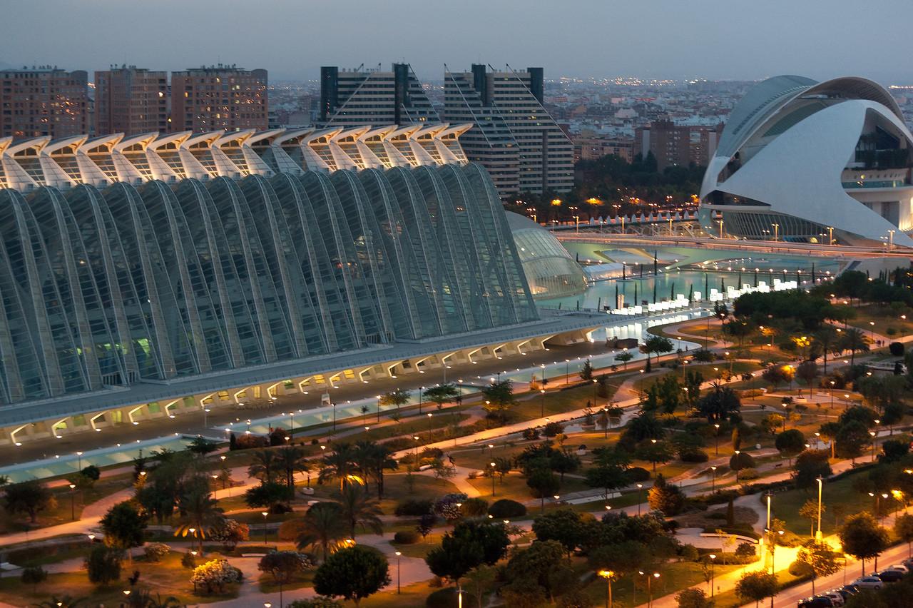 Museu de les Ciències Príncipe Felipe in Valencia, Spain