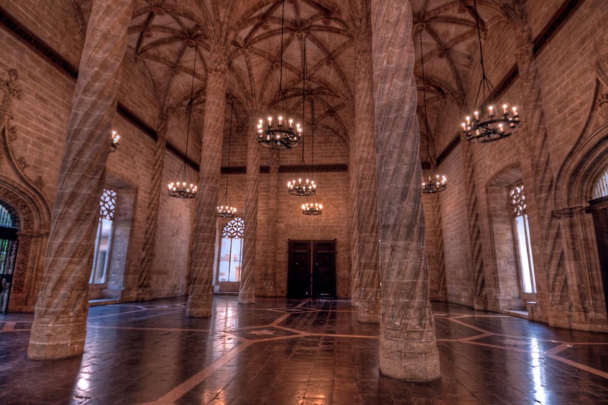World Heritage Site #111: La Lonja de la Seda de Valencia, Spain