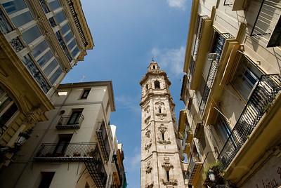 Santa Catalina Bell Tower, Valencia, Spain