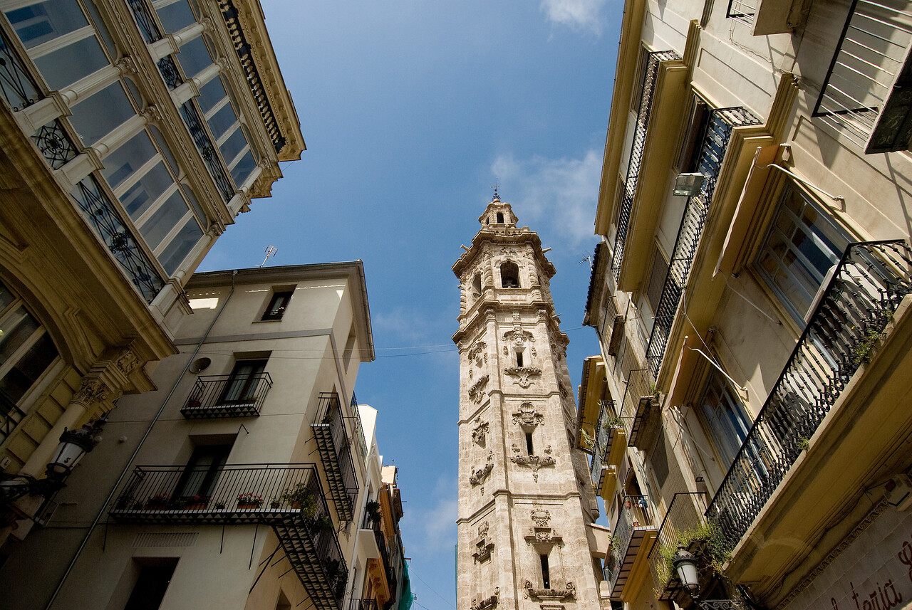 Santa Catalina Bell Tower, Valencia, Spain