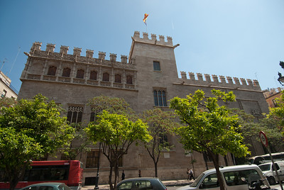 Llotja de la Seda in Valencia, Spain