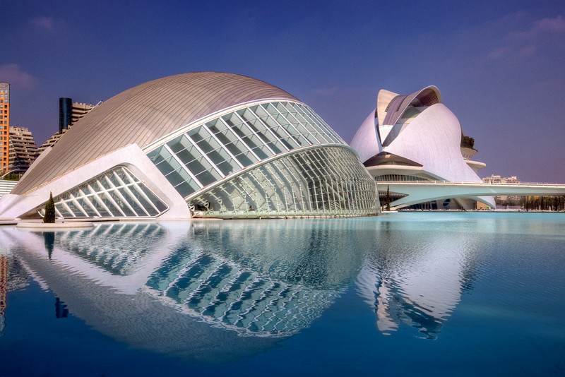 City of Arts and Sciences in Valencia, Spain