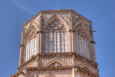Valencia Cathedral in Valencia, Spain