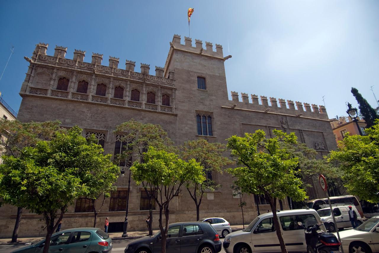La Lonja de la Seda de Valencia