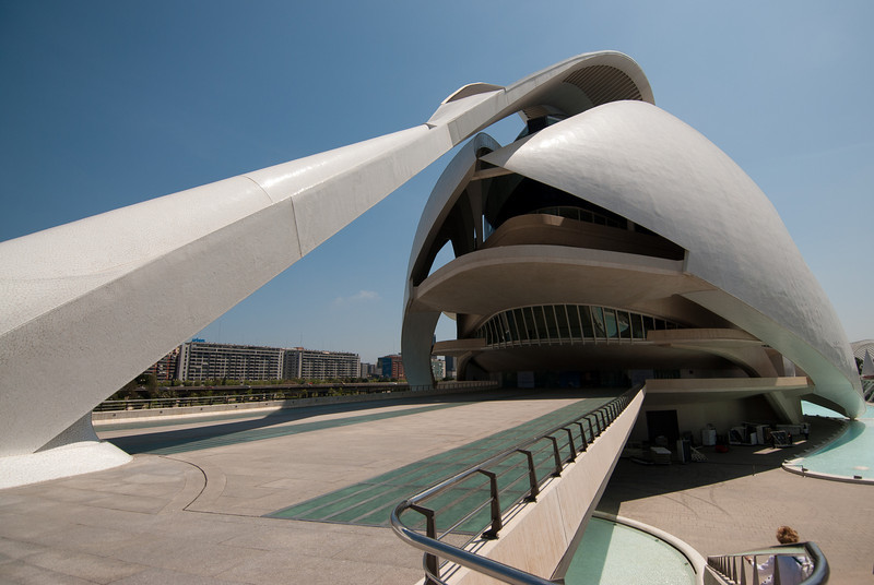 L'Agora in the City of Arts and Sciences in Valencia, Spain