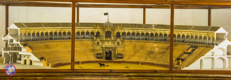 A Model Showing the Structure of the Bull Fighting Arena in Sevilla (©simon@myeclecticimages.com)