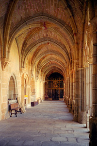 The Cloister in The Avila Cathedral, Spain
