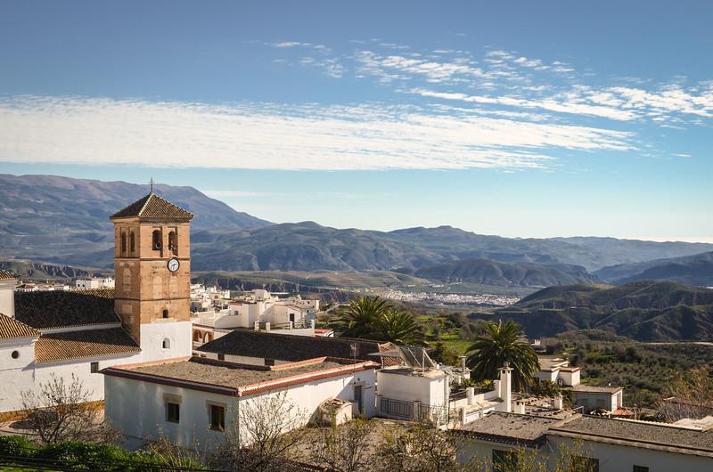 Valór, at 909 m in the Alpujarra of Granada