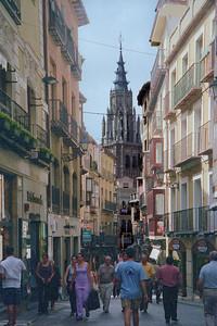 Toledo Spain Street Scene