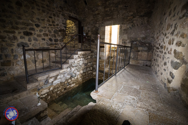 Looking Across the Mikvah to the Entrance Stairway (©simon@myeclecticimages.com)