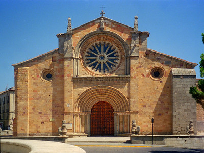 The Cathedral and Plaza De Santa Teresa, Avila, Spain