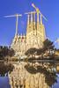 La Sagrada Família, Barcelona, Cataluña, Spain.