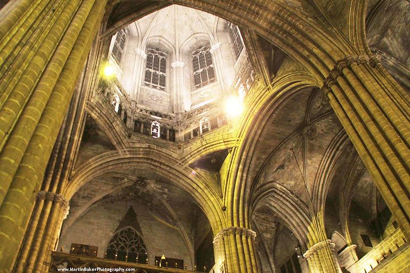 La Seu Cathedral, Old Town, Barcelona, Cataluña, Spain.