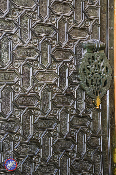 Part of One of the Massive Bronze Cathedral Doors (©simon@myeclecticimages.com)