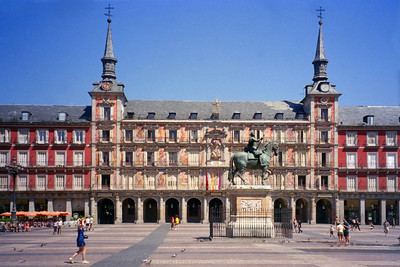 Plaza Mayor, Madrid Spain