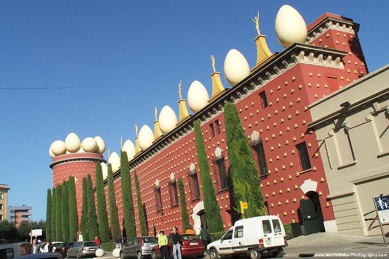 Salvador Dalí Museum, Figueres, Catalunya, Spain.