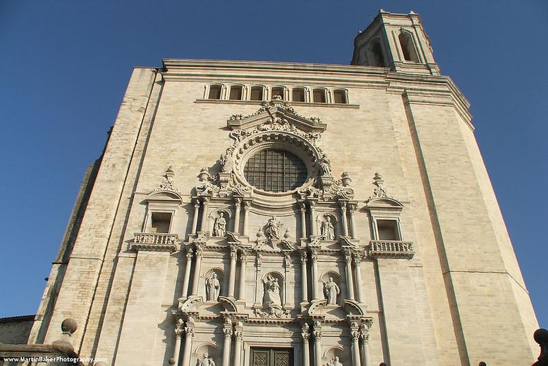 The Cathedral, Girona, Catalunya, Spain.