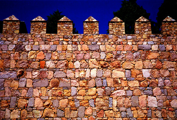 Medieval Fortress Wall of Avila, Spain