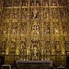 The altarpiece in the Catedral de Sevilla