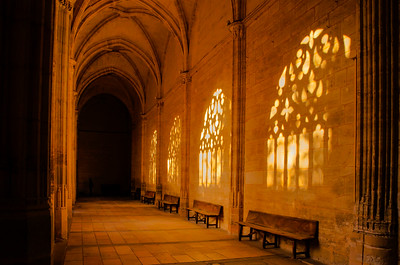 Court yard, The Cathedral of Segovia