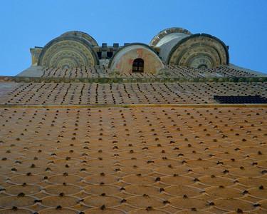 Segovia Alcazar outer wall