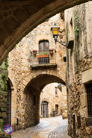 Roadway Leading from the City Gate of Pals to Sant Pere (©simon@myeclecticimages.com)