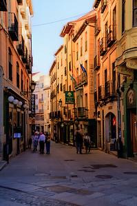 A street in Segovia, Spain