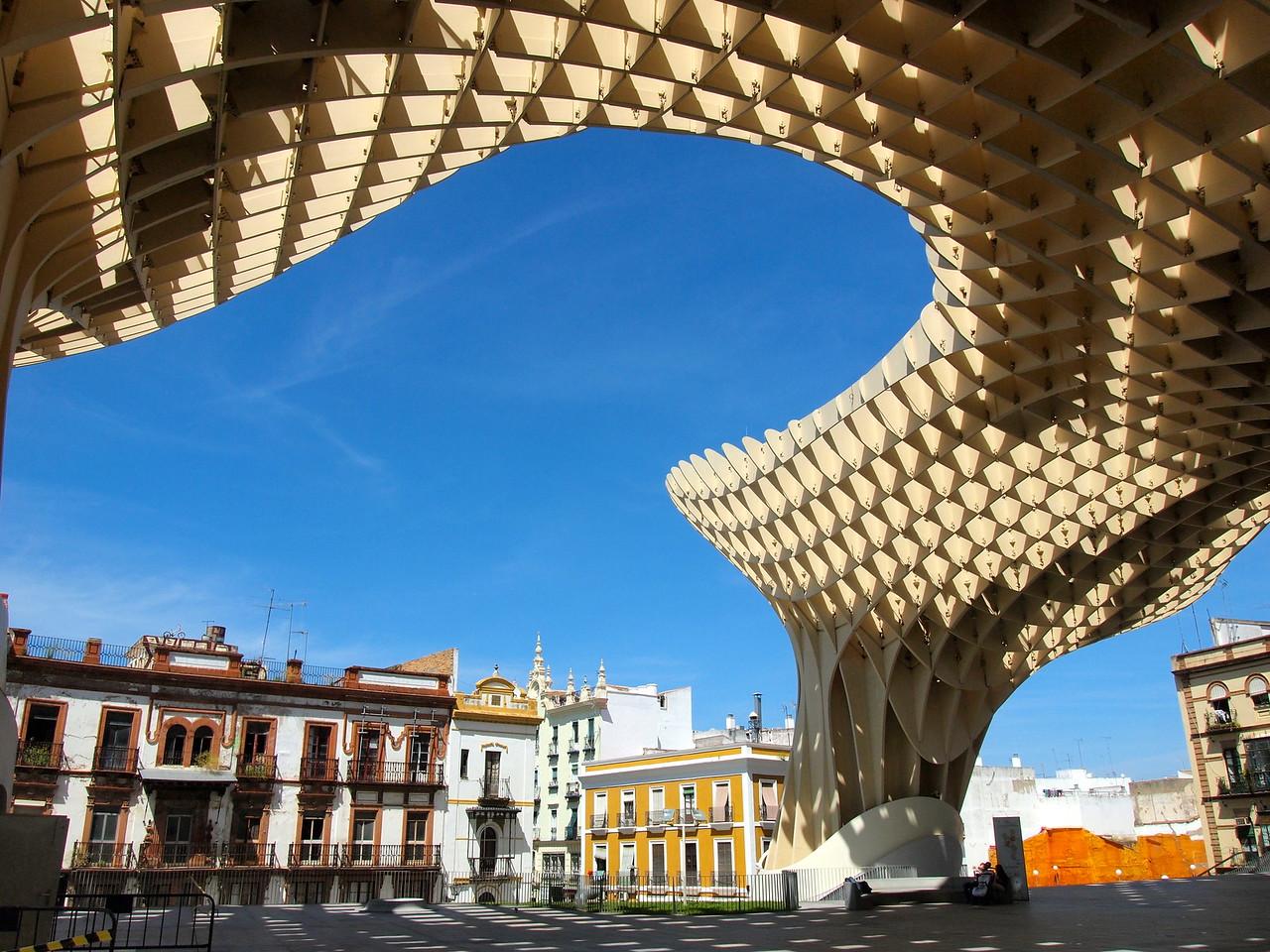 Metropol Parasol in Seville, Spain