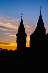 Sunset , El Alcazar of Segovia