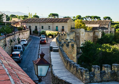 Street behind Hotel Don Felipe