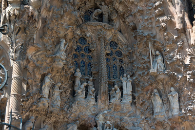 Sagrada Familia Cathedral, Barcelona, Spain.