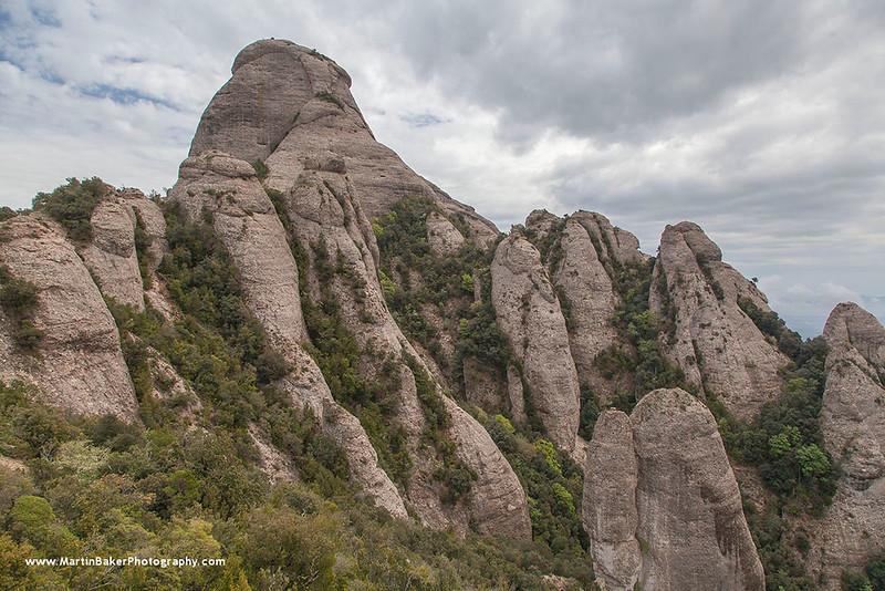 Montserrat, Cataluña, Spain.