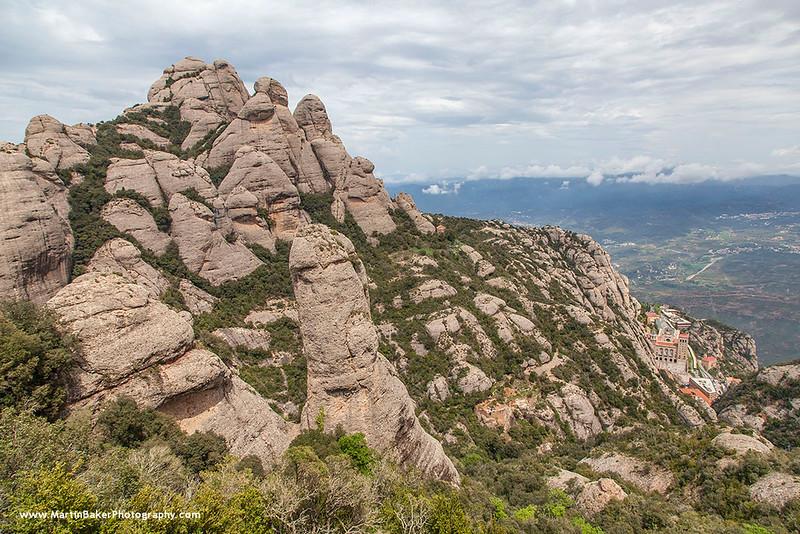 Montserrat Monastery, Cataluña, Spain.