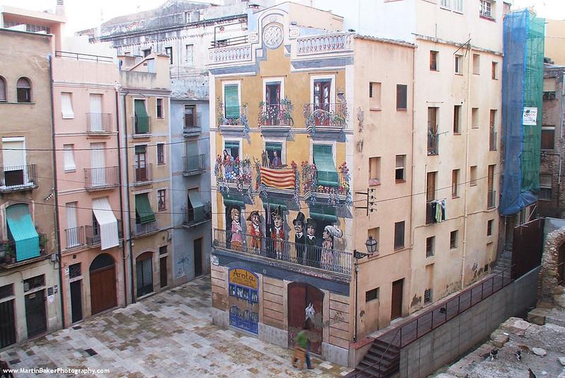 Plaça dels Sedassos, Tarragona, Catalunya, Spain.