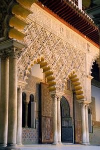 Patio De Los Arrayanes, Alhambra, Granada, Spain