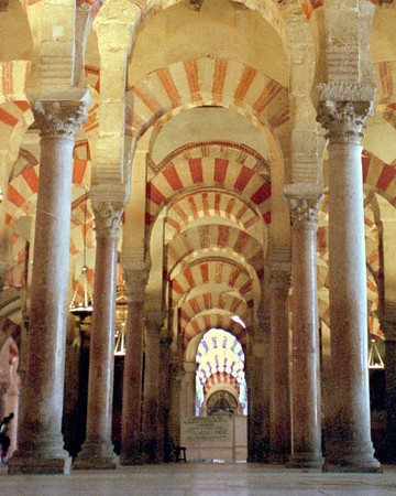 La Mesquita Mosque in Cordoba, Spain