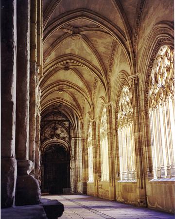 Segovia Cathedral cloister