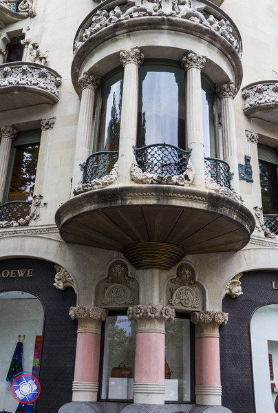 House of Lions and Mulberries by Lluís Domènech i Montaner, located on Passeig de Gràcia, Barcelona (©simon@myeclecticimages.com)