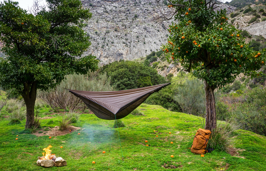 Medium image of hammock camping