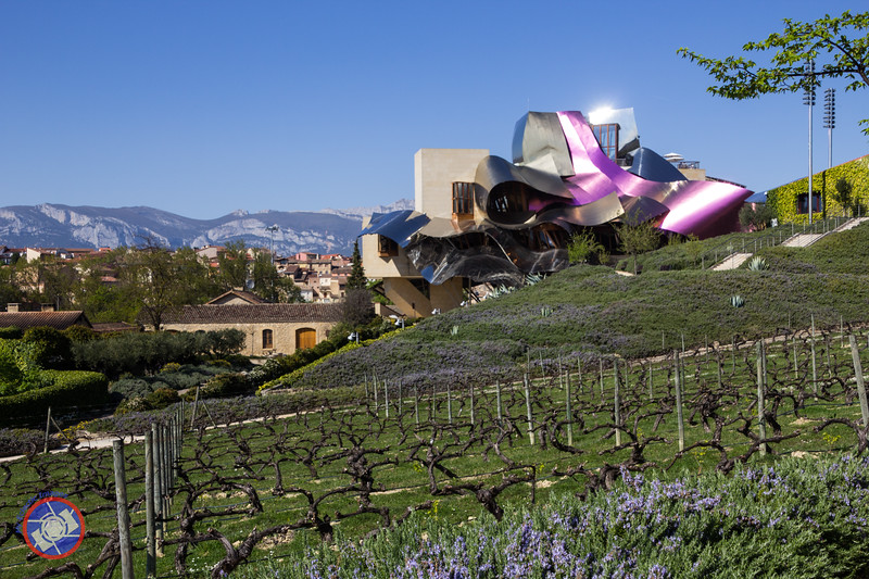 The Frank Gehry Designed Hotel at the Marques de Riscal Winery in Elciego (©simon@myeclecticimages.com)
