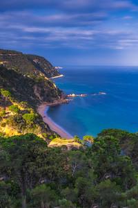 Coastal Trail in Costa Brava, Spain