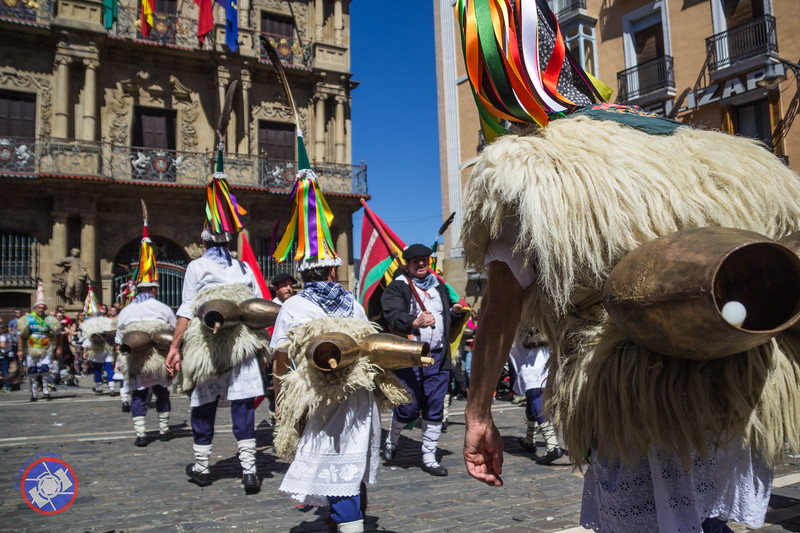 Parade of Supporters of the Basque Language in Pamplona (©simon@myeclecticimages.com)