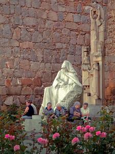 Statue of St. Teresa, Avila Spain