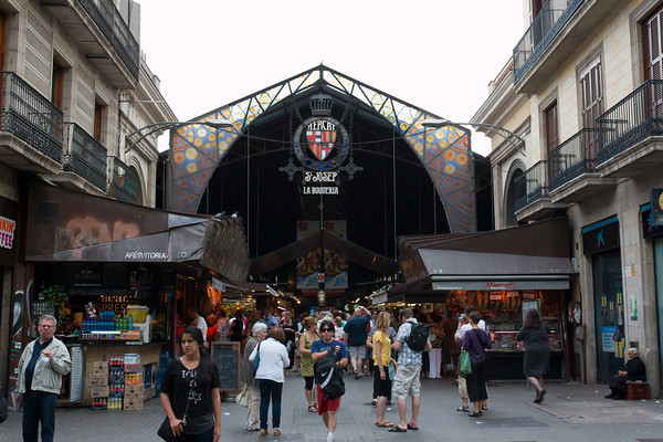St Josep Market, La Rambla, Barcelona Spain