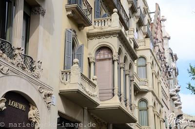 barri gòtic - hausfassade